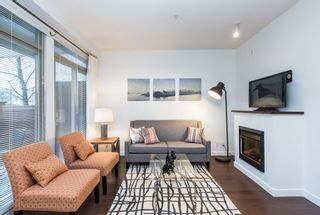 Photo 2: 109 101 MORRISSEY ROAD in Port Moody: Port Moody Centre Condo for sale : MLS®# R2138128