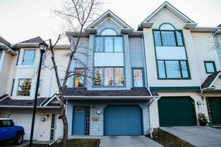 Photo 1: 7 Patina Point SW in Calgary: Patterson Row/Townhouse for sale : MLS®# A1085180
