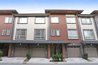 "Photo 1: 34 16127 87 Avenue in Surrey: Fleetwood Tynehead Townhouse for sale in ""Academy"" : MLS®# R2213641"