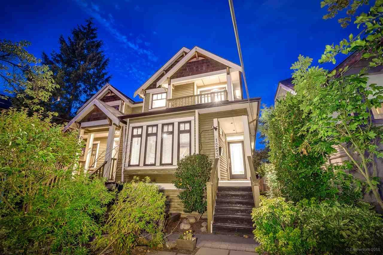 Main Photo: 1253 E 14TH Avenue in Vancouver: Mount Pleasant VE 1/2 Duplex for sale (Vancouver East)  : MLS®# R2398819