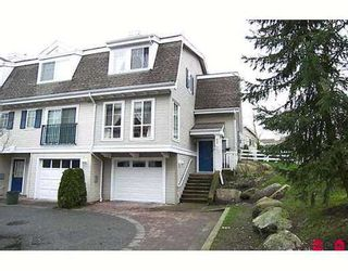 "Photo 1: 36 8930 WALNUT GROVE Drive in Langley: Walnut Grove Townhouse for sale in ""HIGHLAND RIDGE"" : MLS®# F2705474"