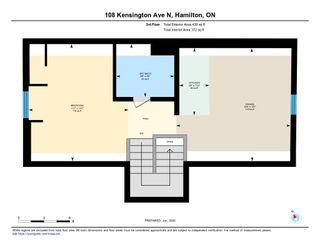 Photo 39: 108 North Kensington Avenue in Hamilton: House for sale : MLS®# H4080012