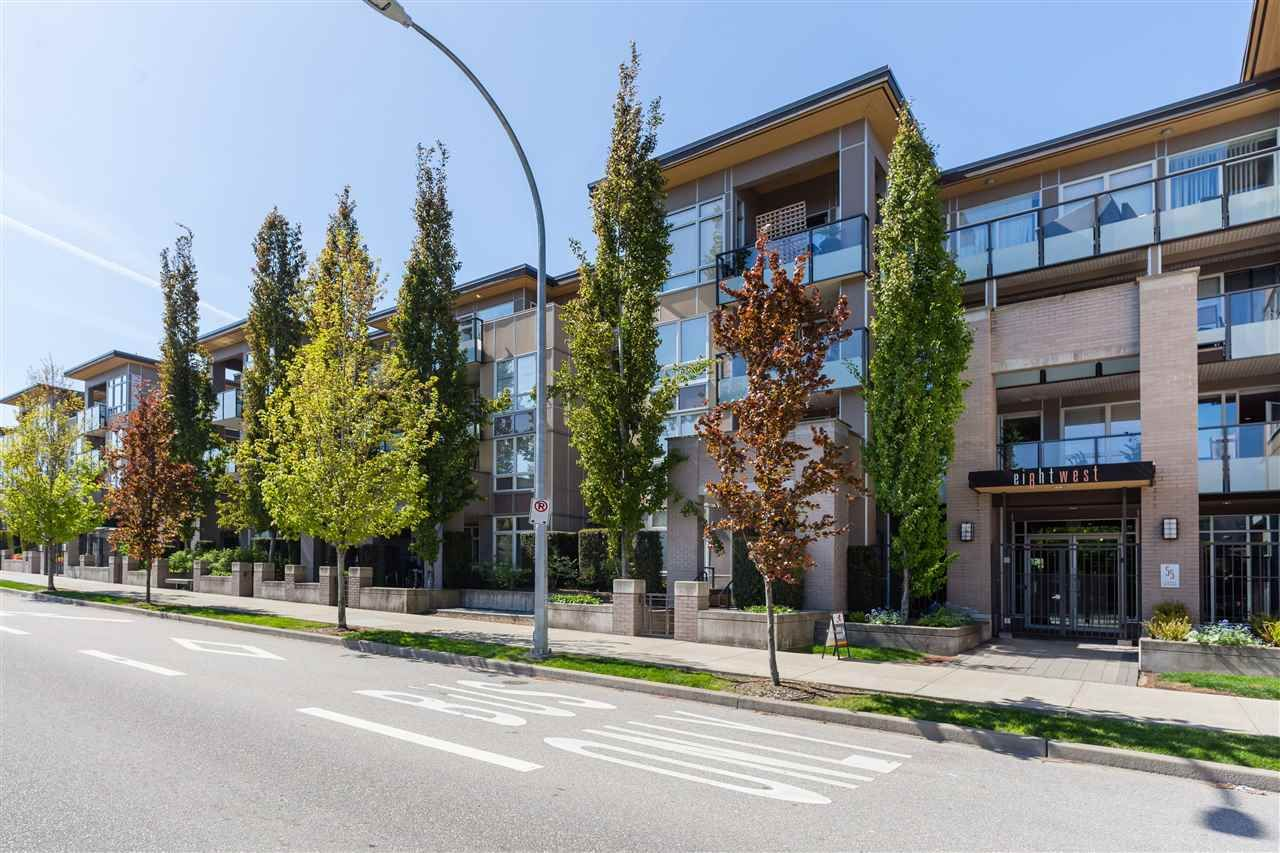 """Main Photo: 215 55 EIGHTH Avenue in New Westminster: GlenBrooke North Condo for sale in """"EIGHTWEST"""" : MLS®# R2457550"""