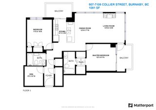 """Photo 40: 907 7108 COLLIER Street in Burnaby: Highgate Condo for sale in """"ARCADIA WEST"""" (Burnaby South)  : MLS®# R2595270"""