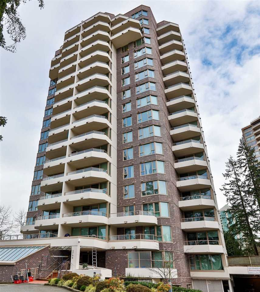 """Main Photo: 1501 5790 PATTERSON Avenue in Burnaby: Metrotown Condo for sale in """"REGENT"""" (Burnaby South)  : MLS®# R2480005"""