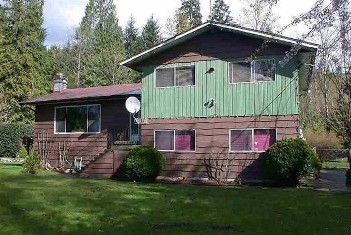 Main Photo: 4265 CEDAR Drive in Coquitlam: Burke Mountain House for sale : MLS®# R2514944