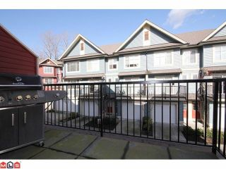 "Photo 8: 25 6635 192ND Street in Surrey: Clayton Townhouse for sale in ""Leafside Lane"" (Cloverdale)  : MLS®# F1204688"