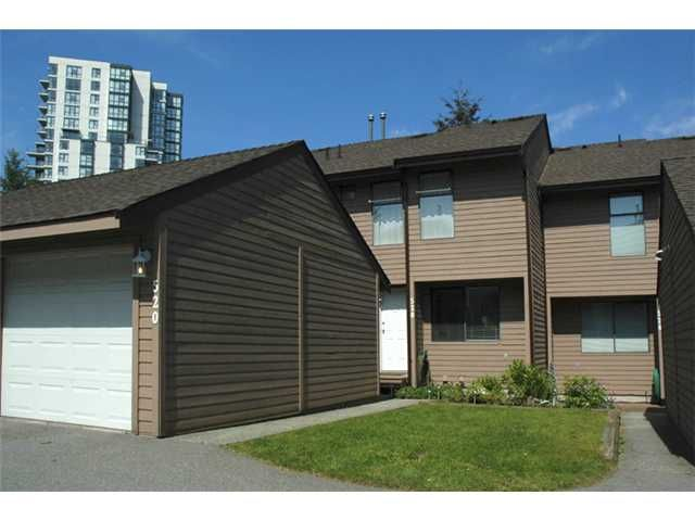 """Main Photo: 520 LEHMAN Place in Port Moody: North Shore Pt Moody Townhouse for sale in """"EAGLE POINT"""" : MLS®# V830579"""