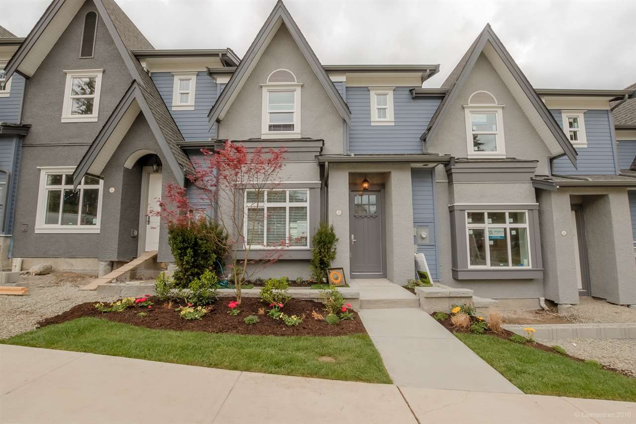 "Main Photo: 6 3410 ROXTON Avenue in Coquitlam: Burke Mountain Condo for sale in ""16 ON ROXTON"" : MLS®# R2057975"