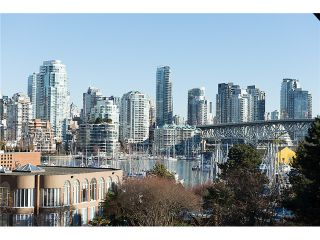 "Photo 1: 307 1450 PENNYFARTHING Drive in Vancouver: False Creek Condo for sale in ""HARBOUR COVE"" (Vancouver West)  : MLS®# V1038505"