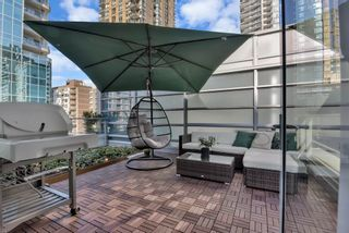 """Photo 1: 515 1283 HOWE Street in Vancouver: Downtown VW Townhouse for sale in """"TATE"""" (Vancouver West)  : MLS®# R2583102"""
