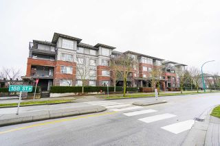 "Main Photo: 413 6815 188 Street in Surrey: Clayton Condo for sale in ""COMPASS CONDO COMPLEX"" (Cloverdale)  : MLS®# R2543495"