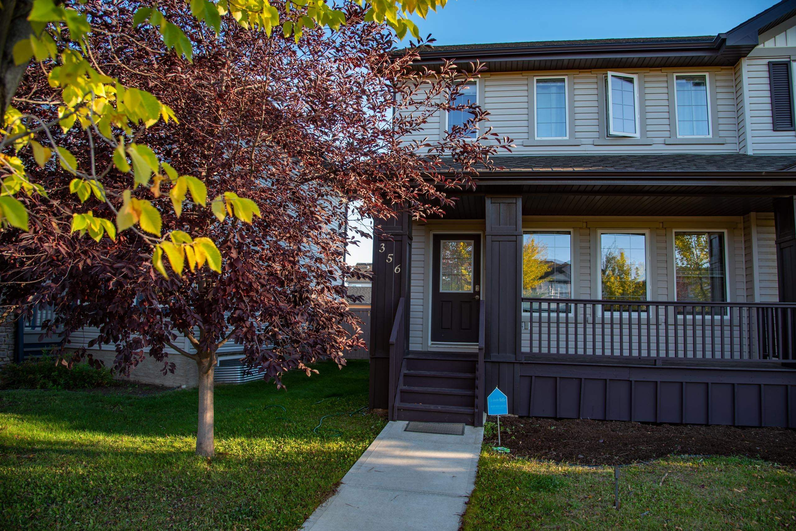 Main Photo: 356 SECORD Boulevard in Edmonton: Zone 58 House Half Duplex for sale : MLS®# E4263489