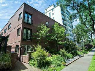 Photo 1: 103 1940 Barclay Street in Vancouver: West End VW Condo for sale (Vancouver West)  : MLS®# V1138713