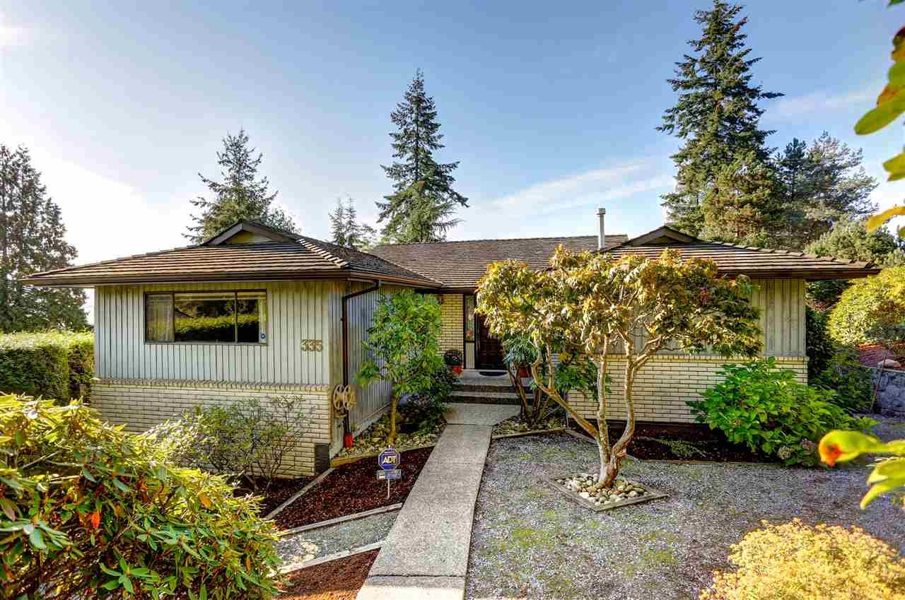 Main Photo: 335 HICKEY DRIVE in Coquitlam: Coquitlam East House for sale : MLS®# R2117489