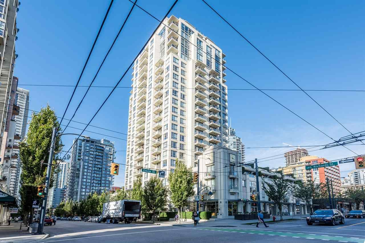 Main Photo: 1101 1225 RICHARDS STREET in Vancouver: Downtown VW Condo for sale (Vancouver West)  : MLS®# R2208895