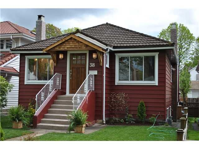 """Main Photo: 38 W 20TH AV in Vancouver: Cambie House for sale in """"CAMBIE VILLAGE"""" (Vancouver West)  : MLS®# V824923"""