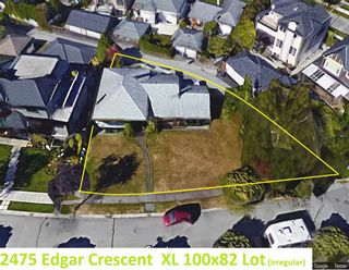 "Photo 1: 2475 EDGAR Crescent in Vancouver: Quilchena House for sale in ""QUILCHENA"" (Vancouver West)  : MLS®# R2115712"