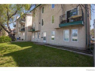 Photo 1: 204 Goulet Street in Winnipeg: St Boniface Condominium for sale (South East Winnipeg)  : MLS®# 1612583