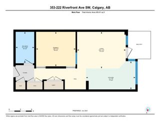 Photo 35: 353 222 Riverfront Avenue SW in Calgary: Chinatown Apartment for sale : MLS®# A1126286