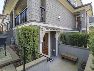 Photo 1: 2348 W 8TH AVENUE in Vancouver: Kitsilano Townhouse for sale (Vancouver West)  : MLS®# R2247812