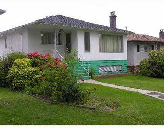 Photo 1: 2666 WAVERLEY Avenue in Vancouver: Killarney VE House for sale (Vancouver East)  : MLS®# V653683