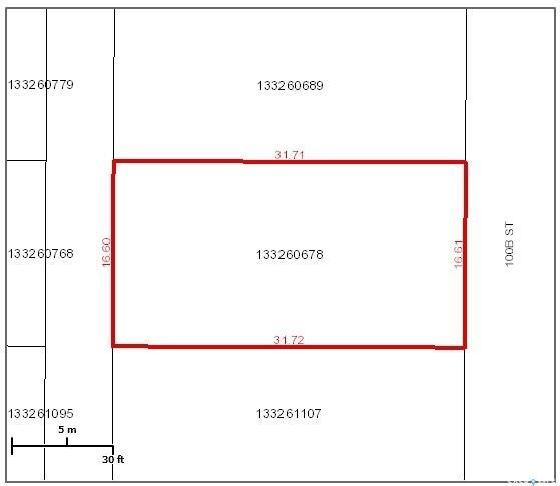Main Photo: 2103 100B Street in Tisdale: Lot/Land for sale : MLS®# SK859532