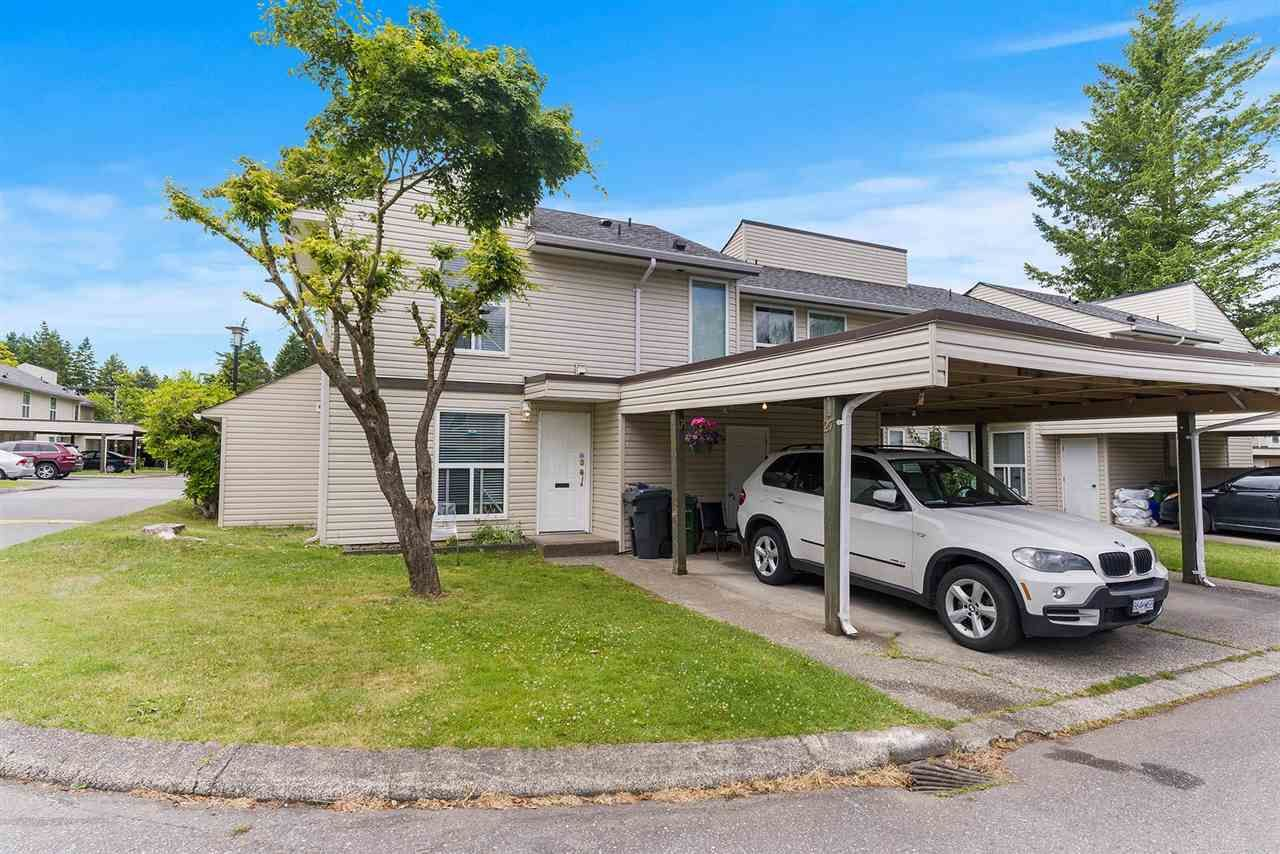 Main Photo: 27 3030 TRETHEWEY Street in Abbotsford: Abbotsford West Townhouse for sale : MLS®# R2591728