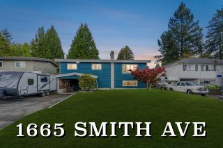 Photo 1: 1665 SMITH Avenue in Coquitlam: Central Coquitlam House for sale : MLS®# R2578794