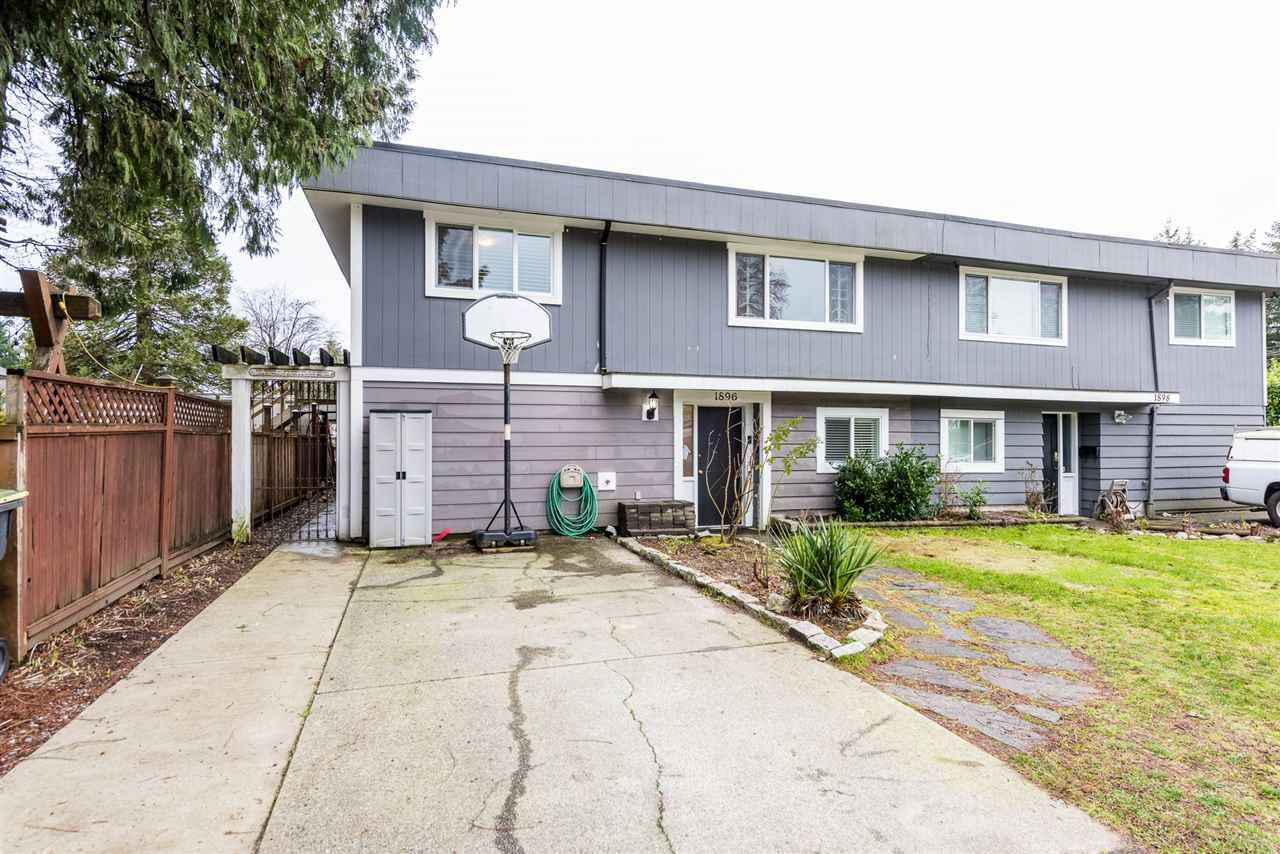 Main Photo: 1896 PATRICIA Avenue in Port Coquitlam: Glenwood PQ 1/2 Duplex for sale : MLS®# R2330564