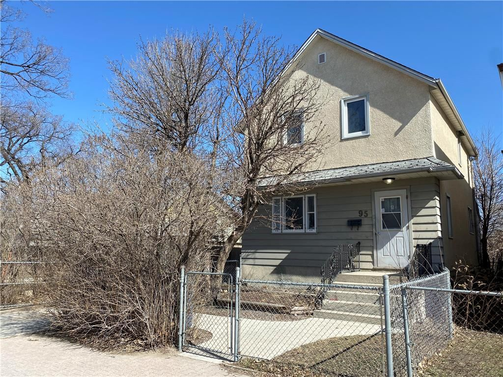 Main Photo: 95 Euclid Avenue in Winnipeg: Point Douglas Residential for sale (4A)  : MLS®# 202107234
