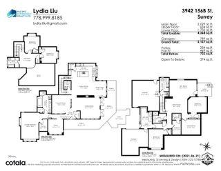Photo 40: 3942 156B Street in Surrey: Morgan Creek House for sale (South Surrey White Rock)  : MLS®# R2622684