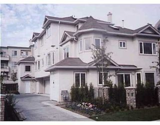 Photo 1: 8491 JONES Road in Richmond: Brighouse South Townhouse for sale : MLS®# V634191