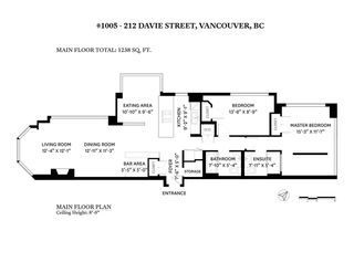 "Photo 39: 1005 212 DAVIE Street in Vancouver: Yaletown Condo for sale in ""Parkview Gardens"" (Vancouver West)  : MLS®# R2527246"