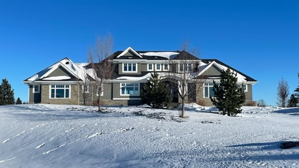 Main Photo: 255030 Willow Creek Rise in Rural Rocky View County: Rural Rocky View MD Detached for sale : MLS®# A1054814