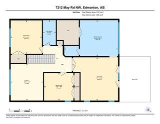 Photo 46: 7212 MAY Road in Edmonton: Zone 14 House Half Duplex for sale : MLS®# E4223733