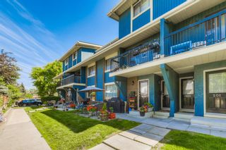 Main Photo: 204 2200 Woodview Drive SW in Calgary: Woodlands Row/Townhouse for sale : MLS®# A1126701