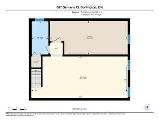 Photo 52: 687 Demaris Court in Burlington: House for sale : MLS®# H4052206