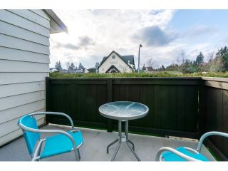 """Photo 20: 106 2844 273 Street in Langley: Aldergrove Langley Townhouse for sale in """"Chelsea Court"""" : MLS®# R2039587"""