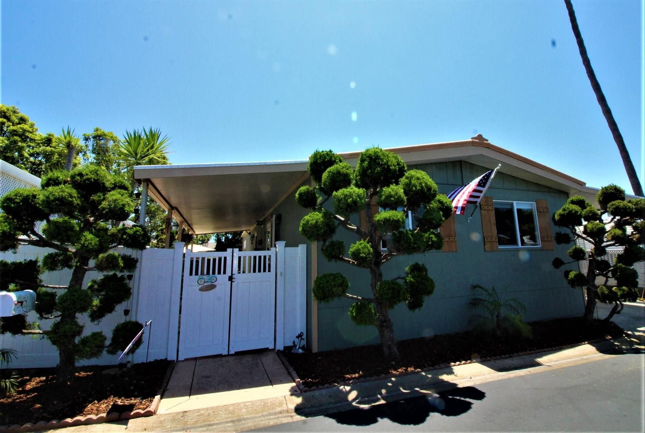 Main Photo: CARLSBAD WEST Manufactured Home for sale : 3 bedrooms : 7319 San Luis Street #233 in Carlsbad