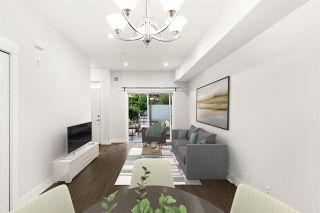 """Photo 2: 10 838 ROYAL Avenue in New Westminster: Downtown NW Townhouse for sale in """"Brickstone Walk 2"""" : MLS®# R2589641"""