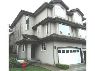 Photo 1: 70 678 CITADEL Drive in Port Coquitlam: Citadel PQ Townhouse for sale : MLS®# V932756