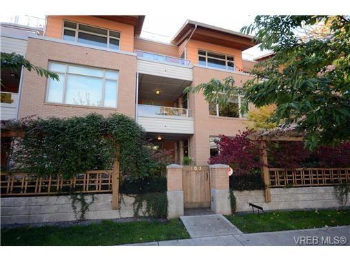 Main Photo: 103 1035 Sutlej St in VICTORIA: Vi Fairfield West Condo for sale (Victoria)  : MLS®# 713889