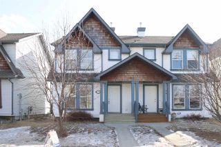Photo 1: 20327 56 Avenue in Edmonton: Zone 58 House Half Duplex for sale : MLS®# E4234919