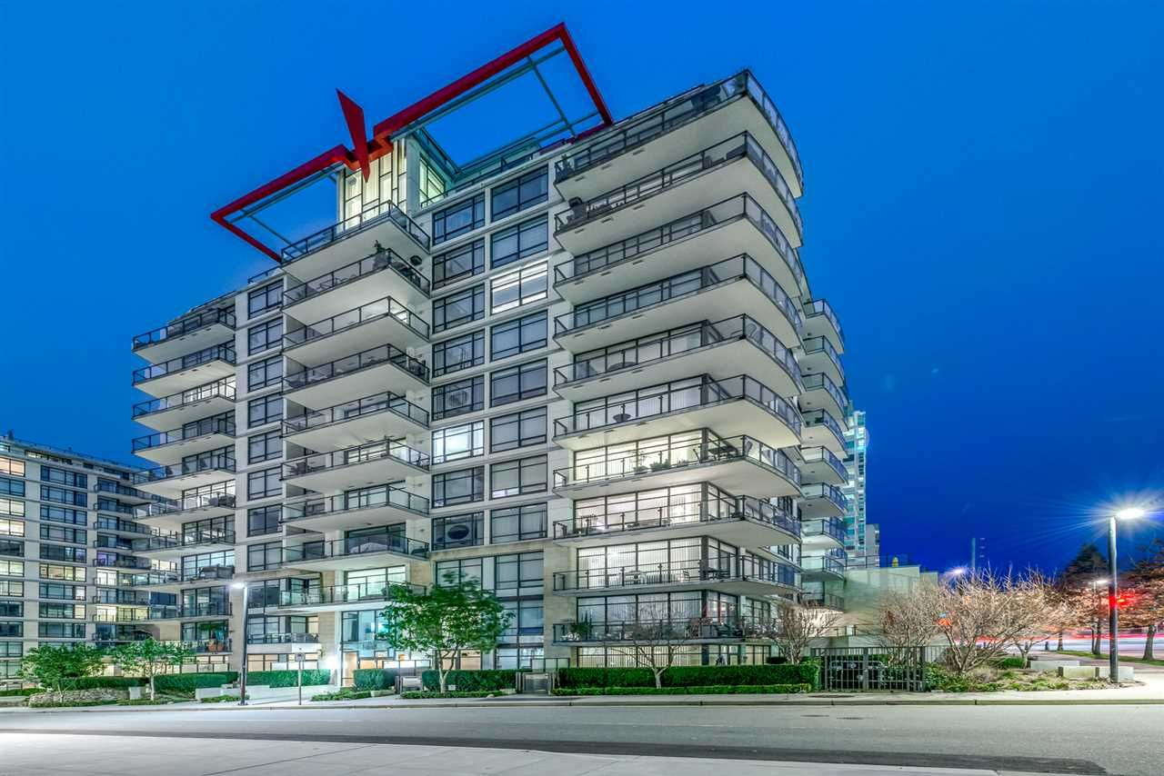 """Main Photo: 808 172 VICTORY SHIP Way in North Vancouver: Lower Lonsdale Condo for sale in """"Atrium East"""" : MLS®# R2432389"""