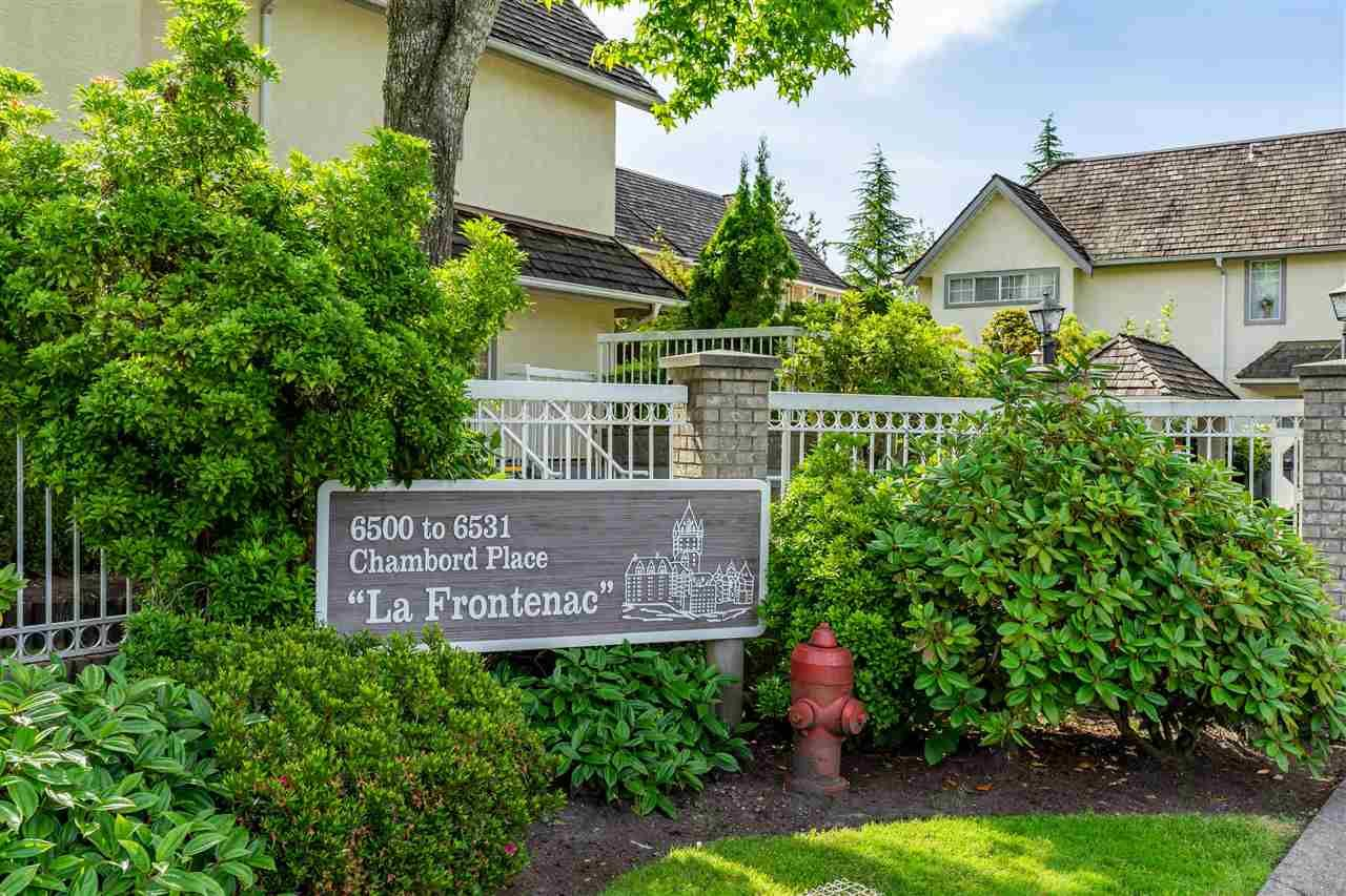 """Main Photo: 47 6521 CHAMBORD Place in Vancouver: Fraserview VE Townhouse for sale in """"La Frontenac"""" (Vancouver East)  : MLS®# R2469378"""