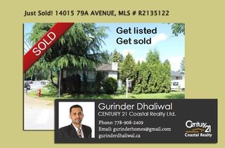 Photo 1: 14015 79A AVENUE in Surrey: East Newton House for sale : MLS®# R2135122