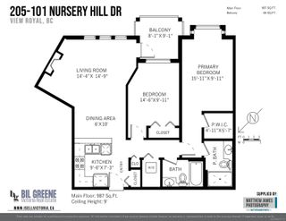 Photo 23: 205 101 Nursery Hill Dr in View Royal: VR Six Mile Condo for sale : MLS®# 878713