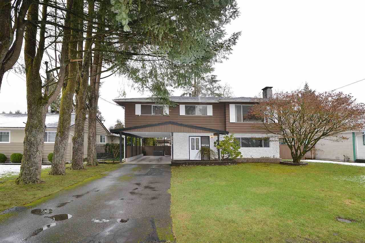 Main Photo: 3766 SOMERSET Street in Port Coquitlam: Lincoln Park PQ House for sale : MLS®# R2144773