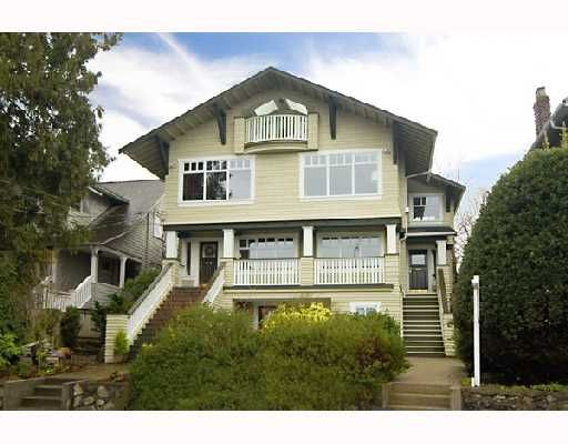 Main Photo: 3354 POINT GREY Road in Vancouver: Kitsilano 1/2 Duplex for sale (Vancouver West)  : MLS®# V688370